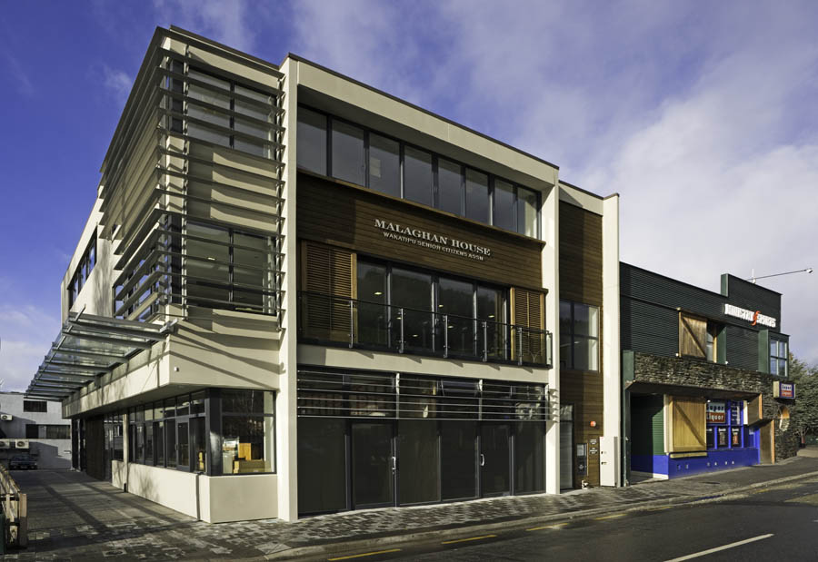 Memorial Street Queenstown - Salmond Architecture - Commercial