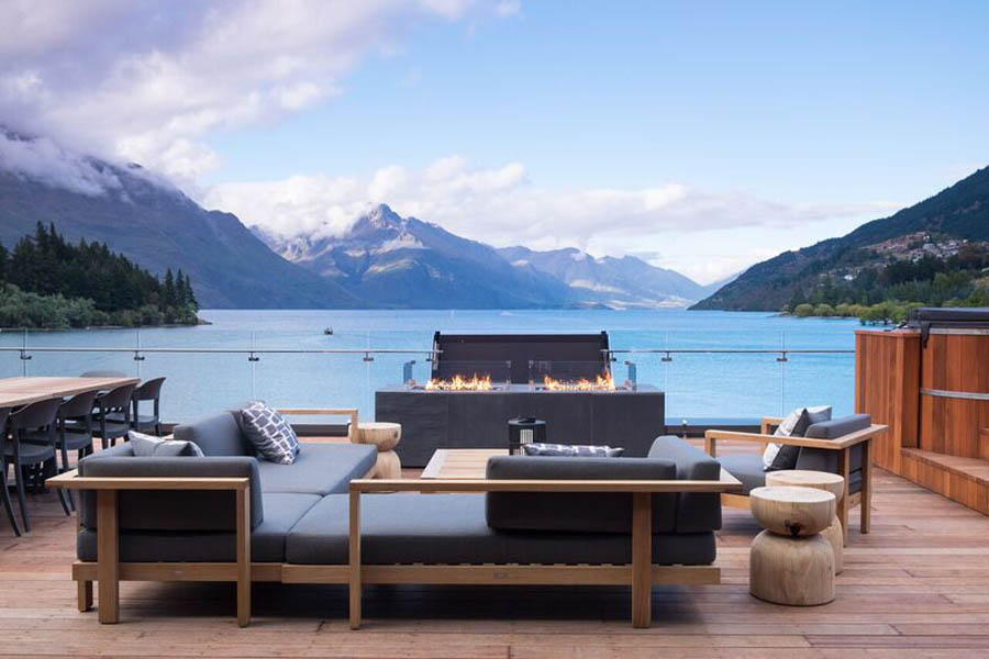 Salmond Architecture Eichardts - Luxury Hotel Queenstown